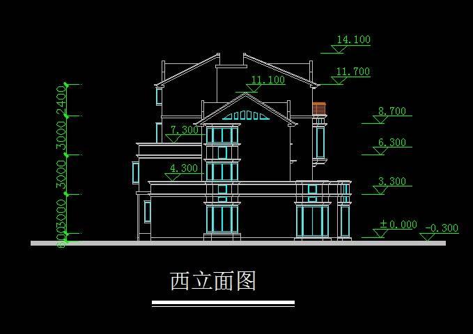 低层连排住宅