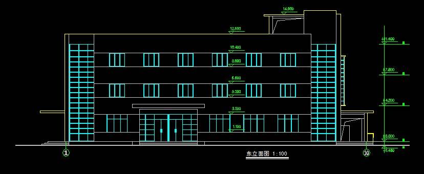 现代宿舍楼