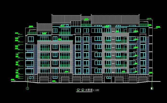 北美风格多层住宅