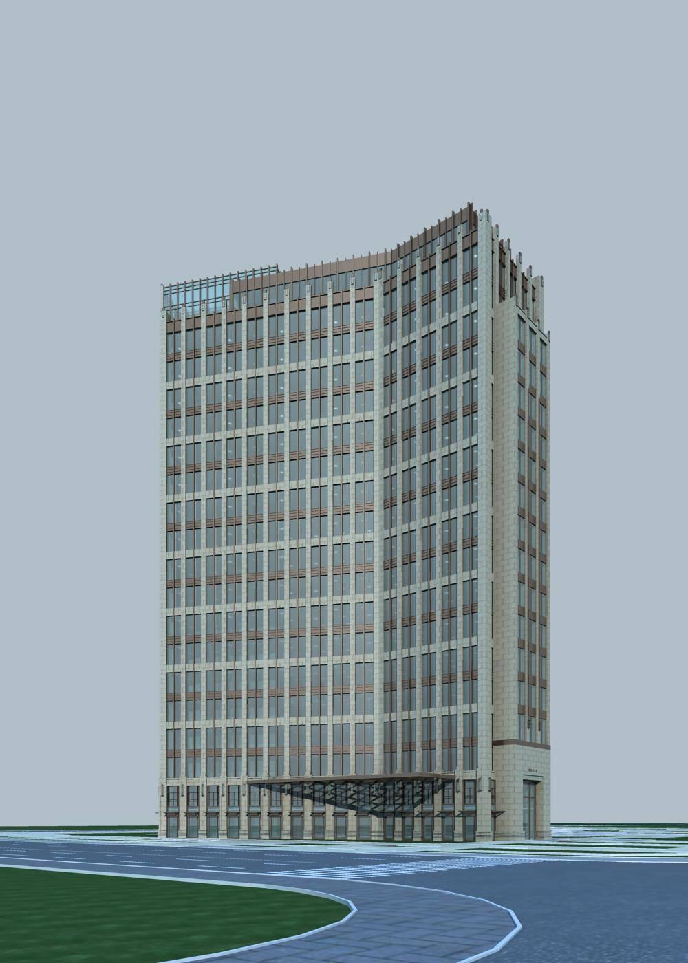 新古典风格高层酒店
