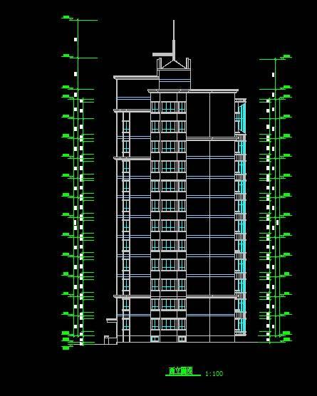 现代风格小高层住宅