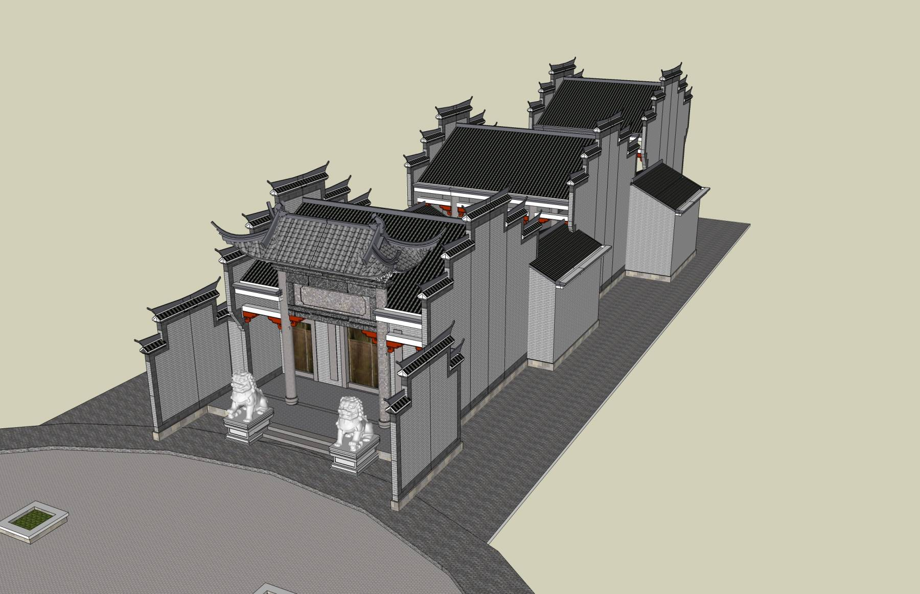 中式--祠堂