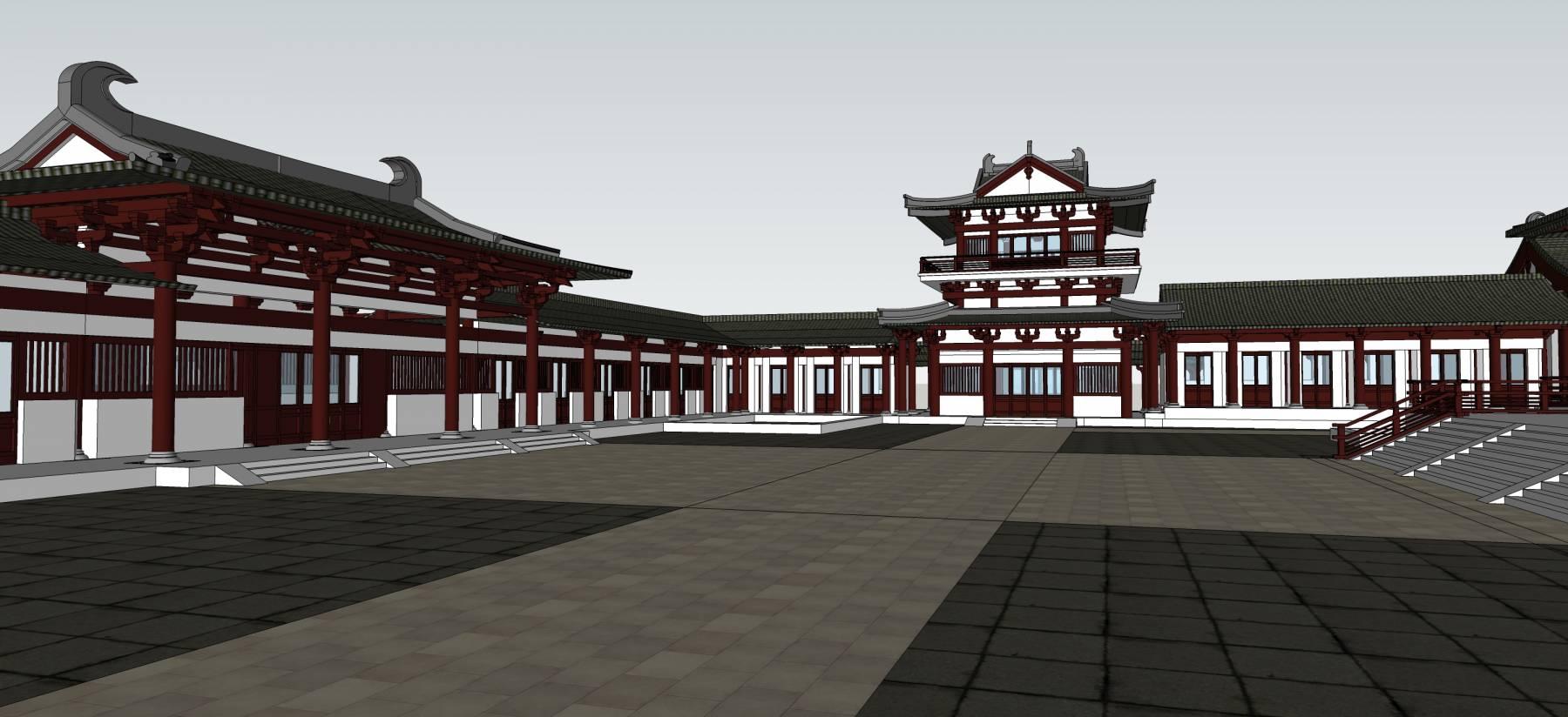 古建寺庙建筑