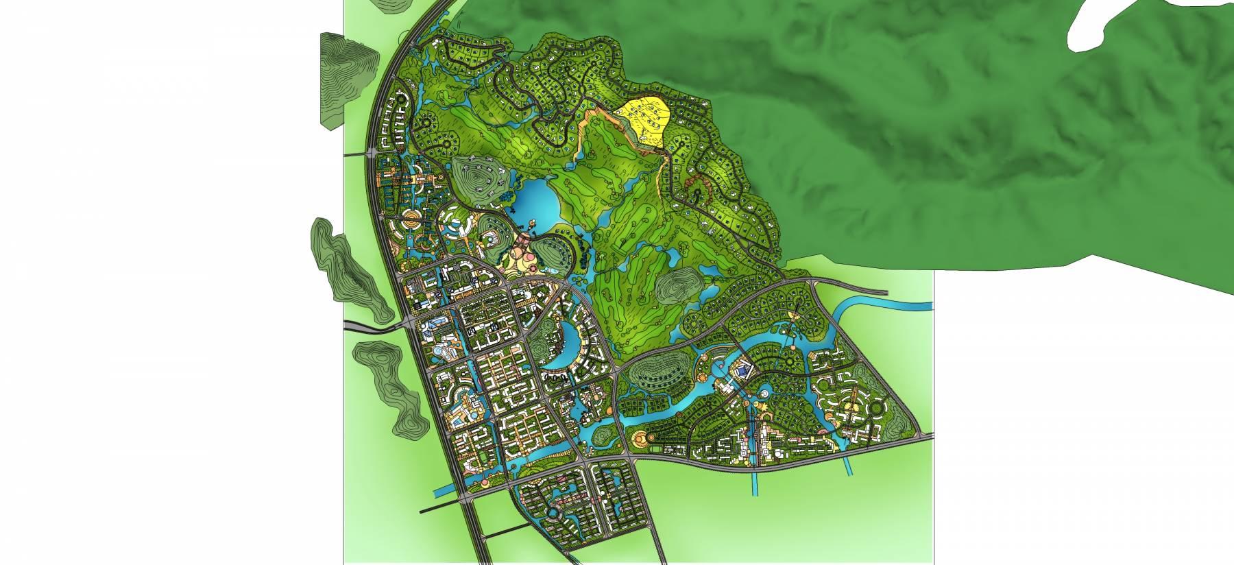 大型完整城市规划