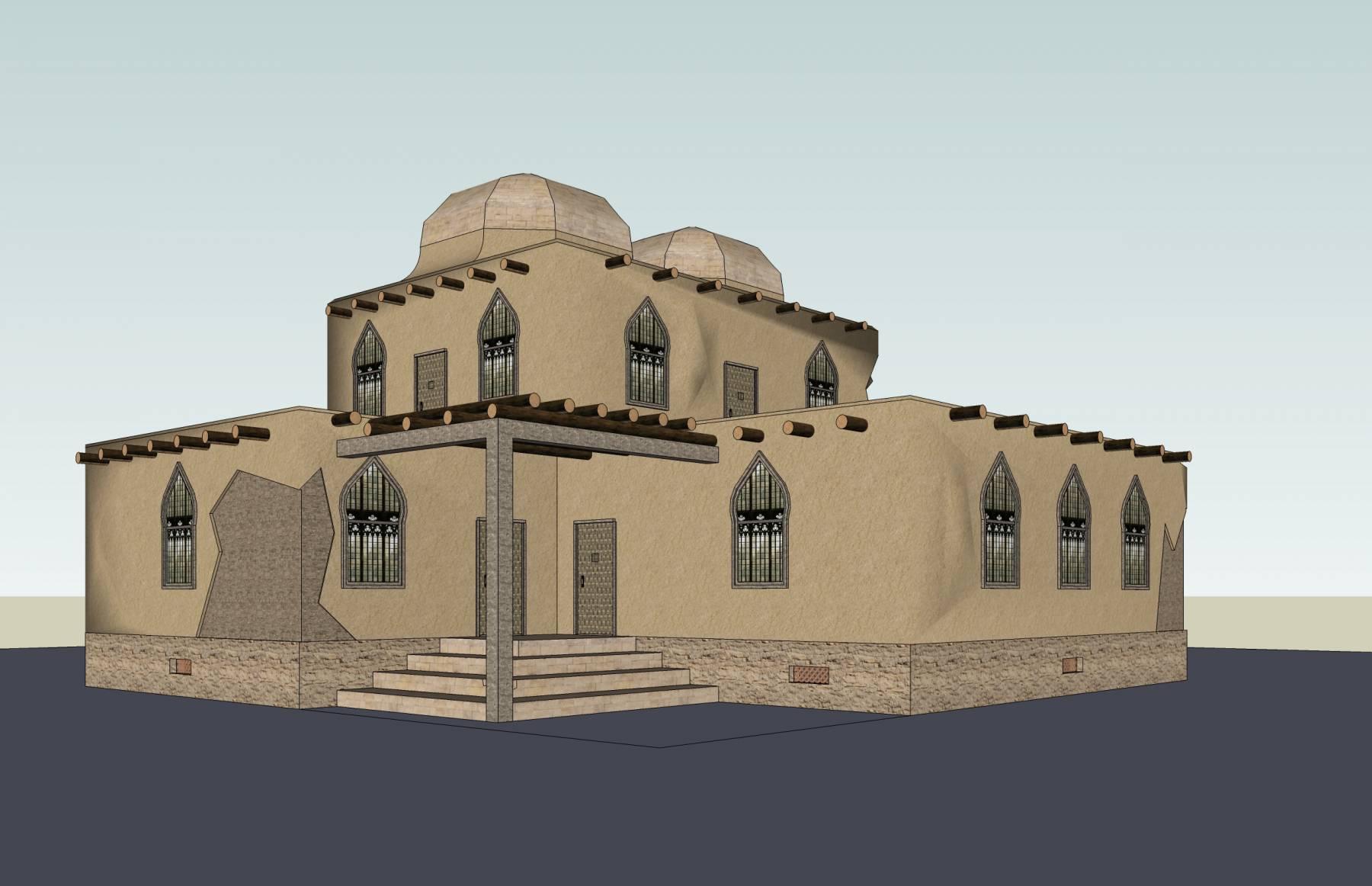 阿拉伯式独栋别墅