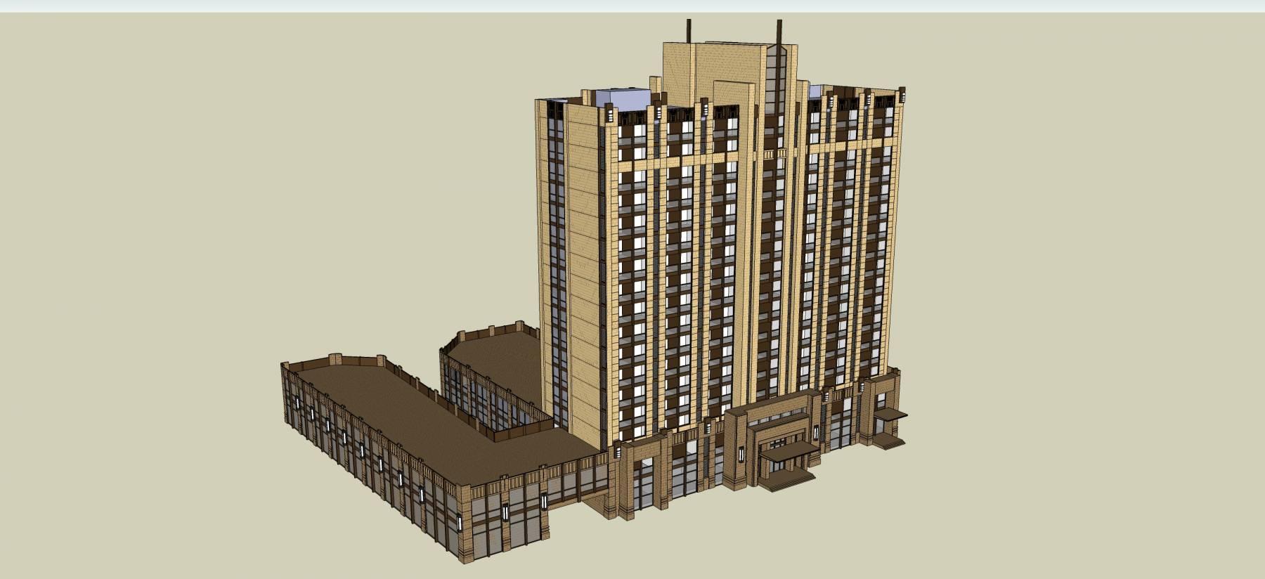 新古典风格高层住宅