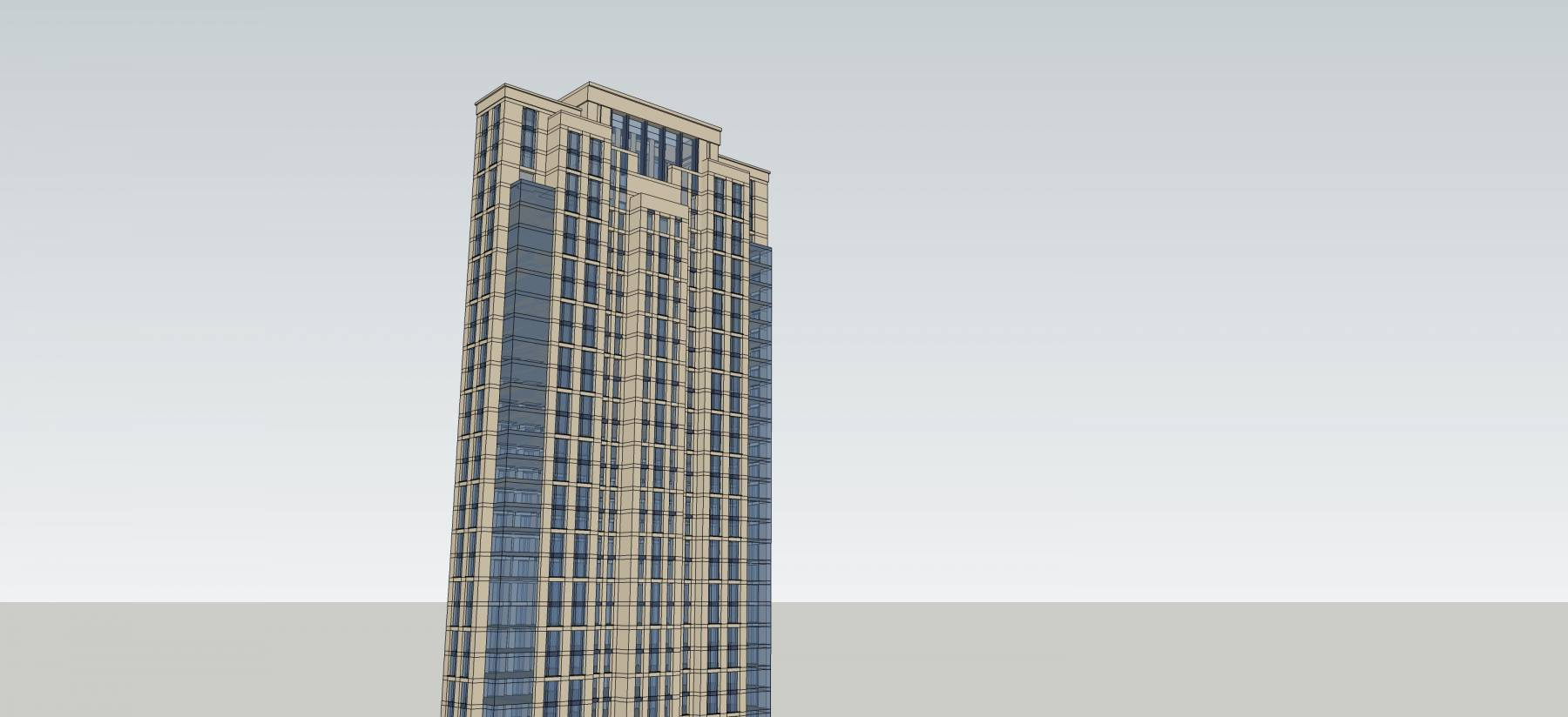 古典风格高层住宅