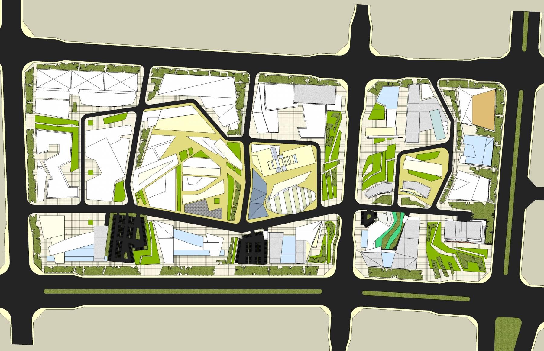现代工业区规划