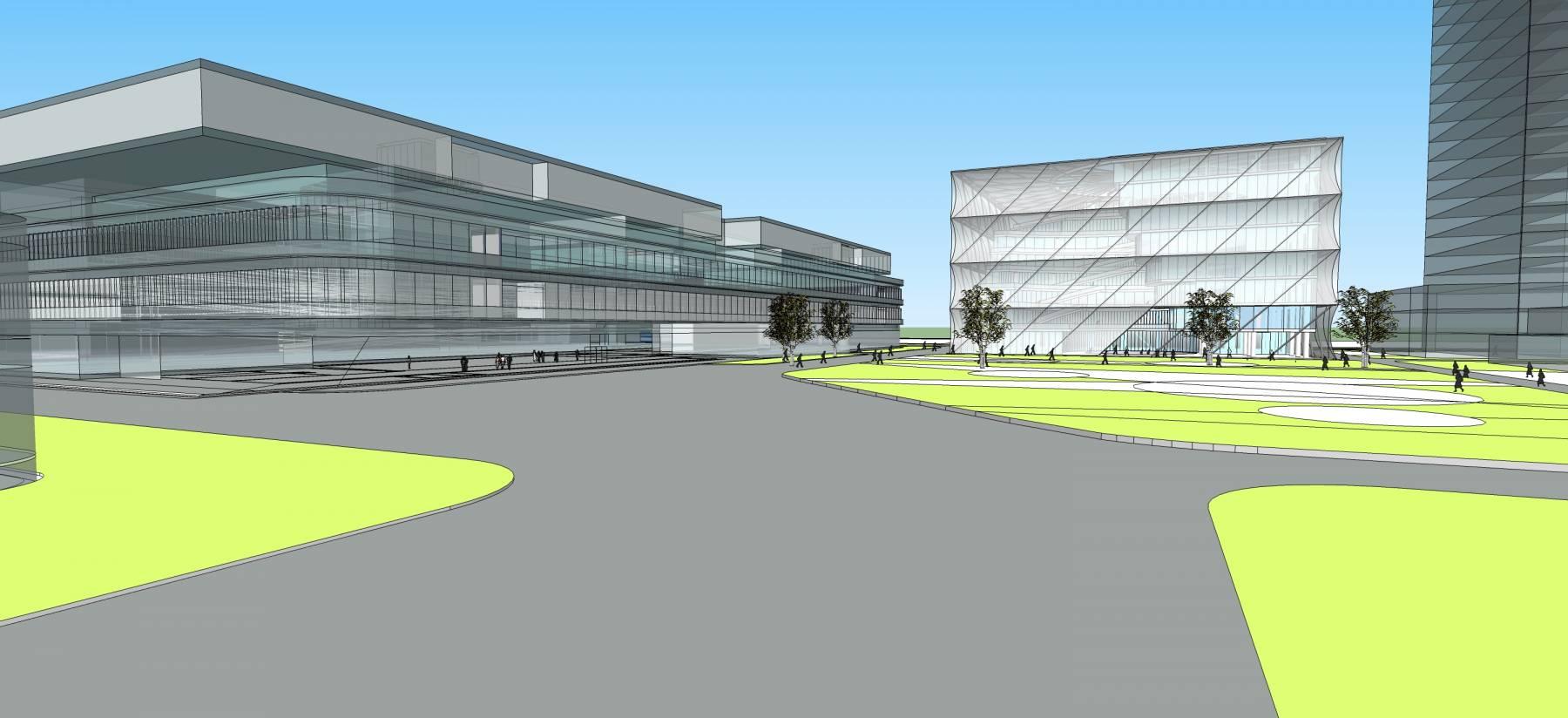 现代高层学院规划
