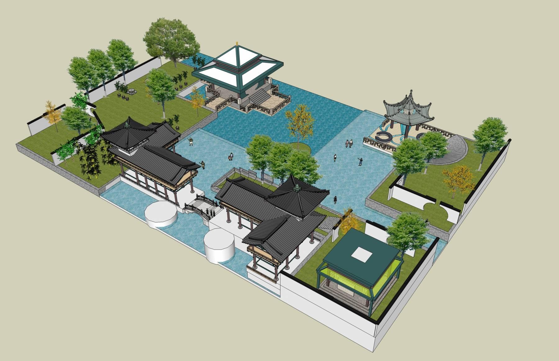 中式园林及景观