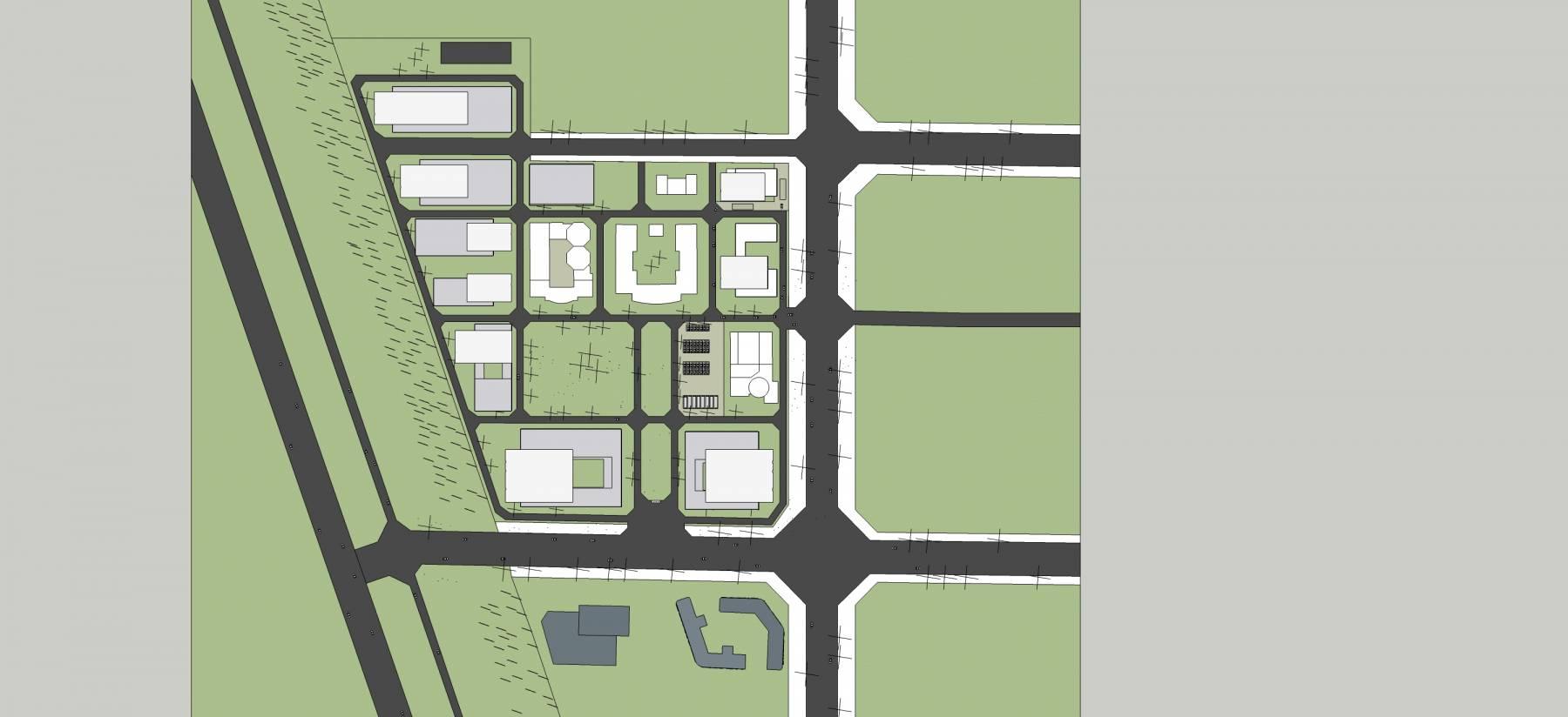 现代风格工业园区