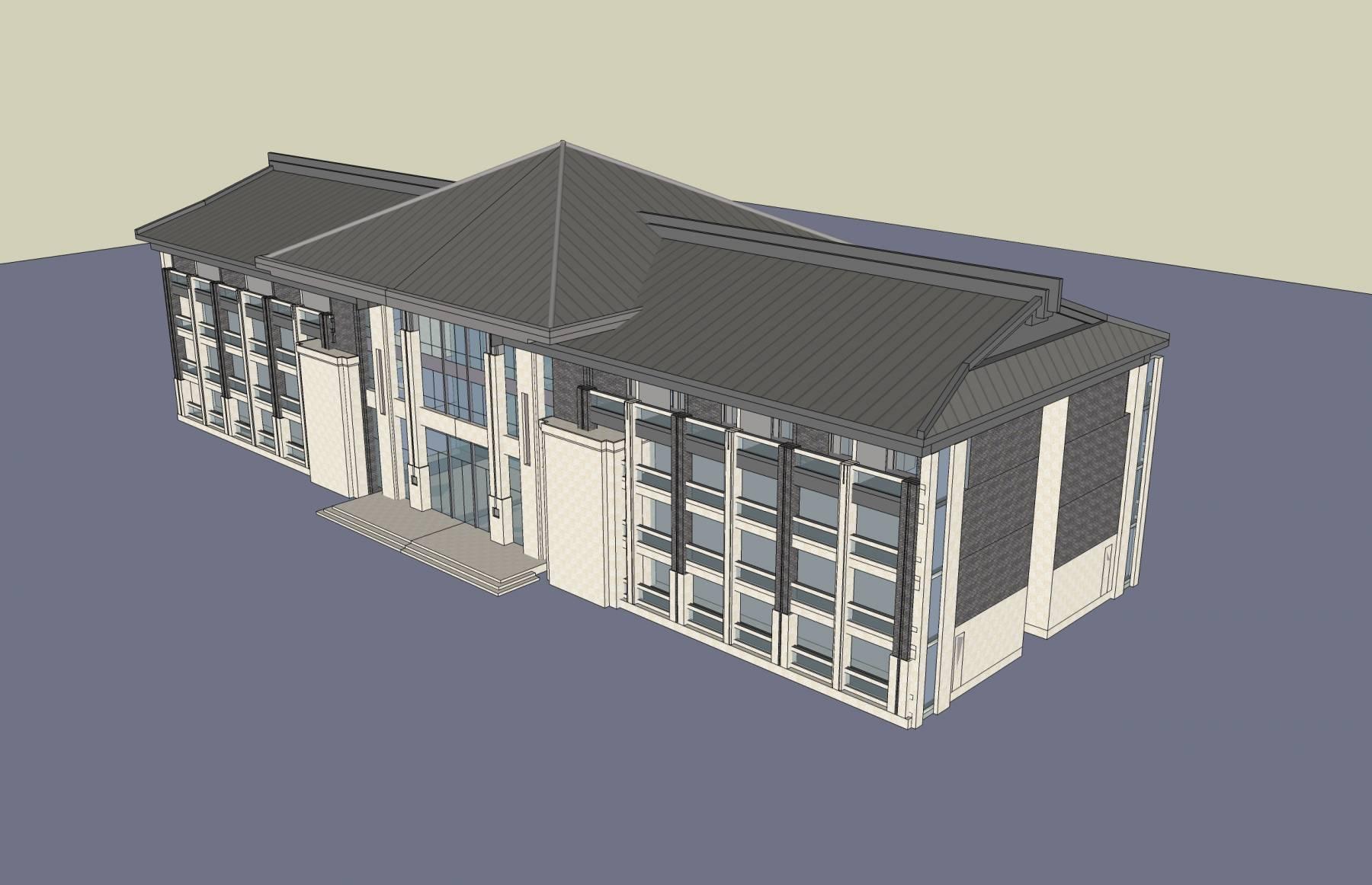 民国风格小办公楼