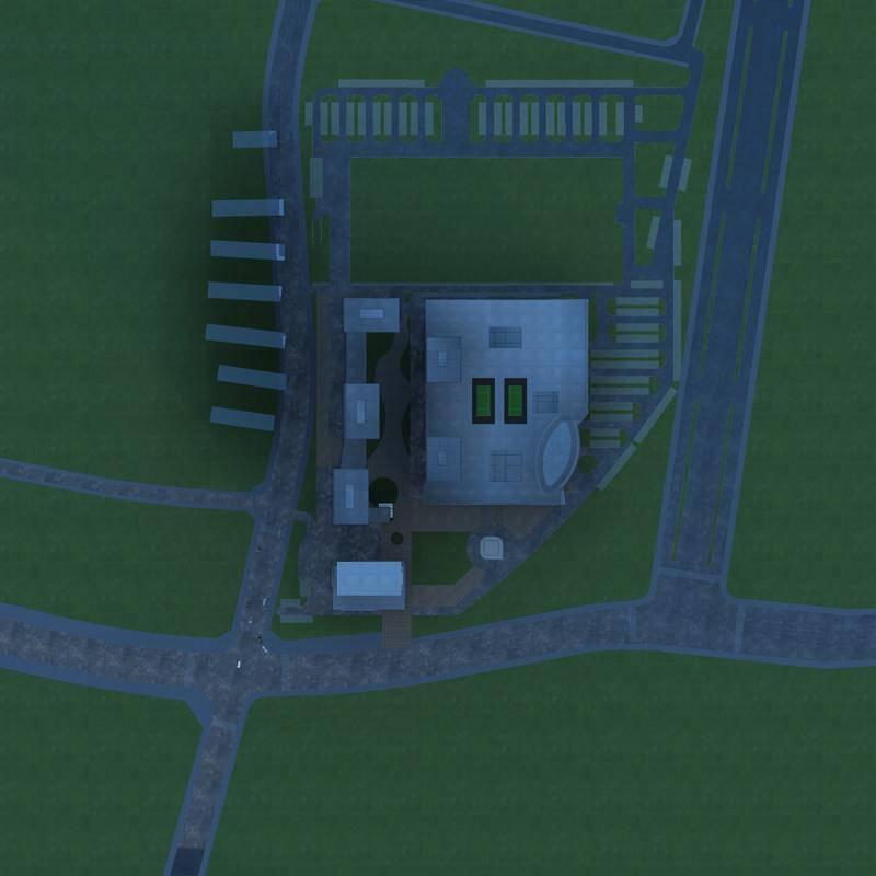 现代综合住宅小区