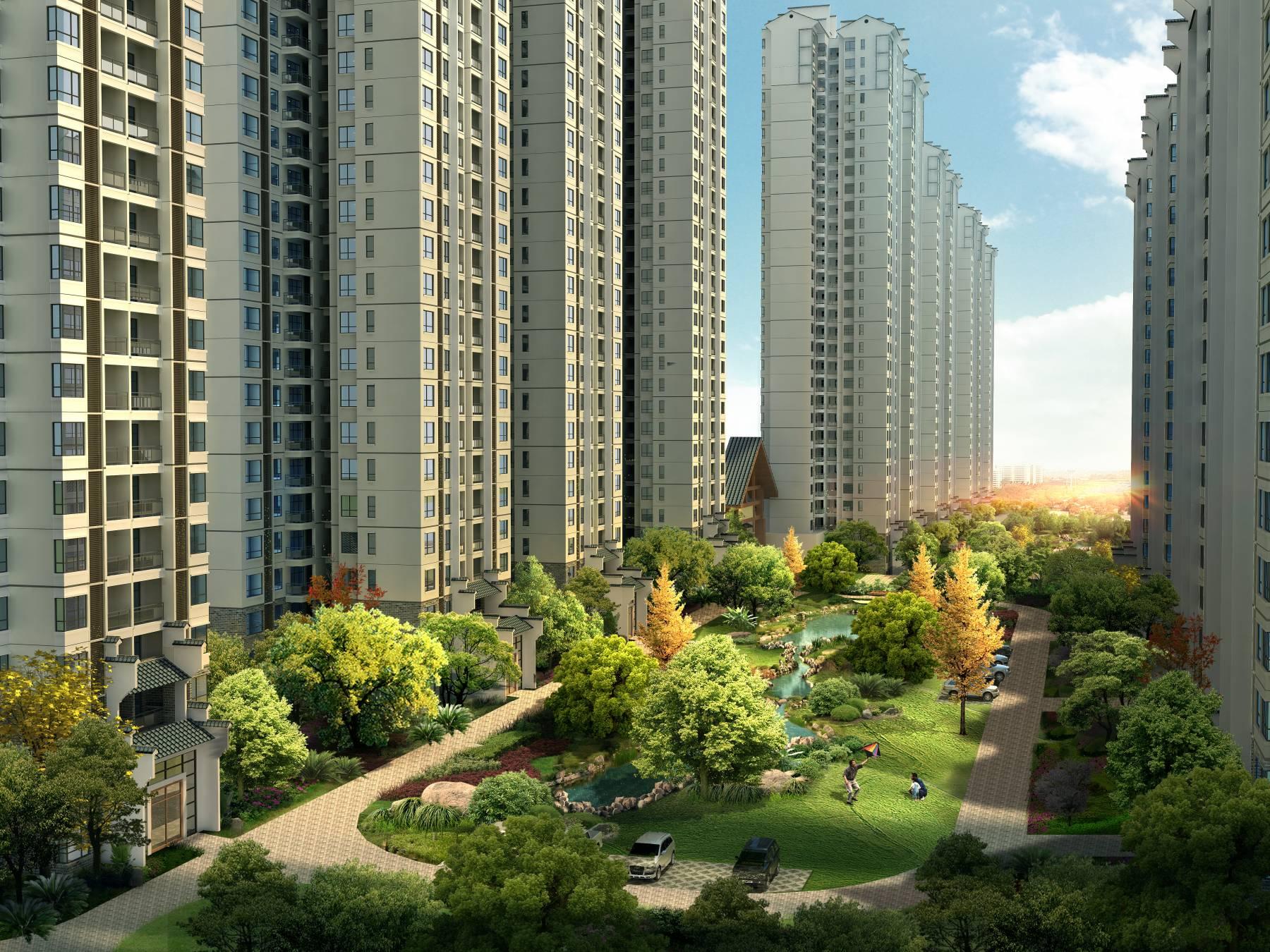中式住宅小区