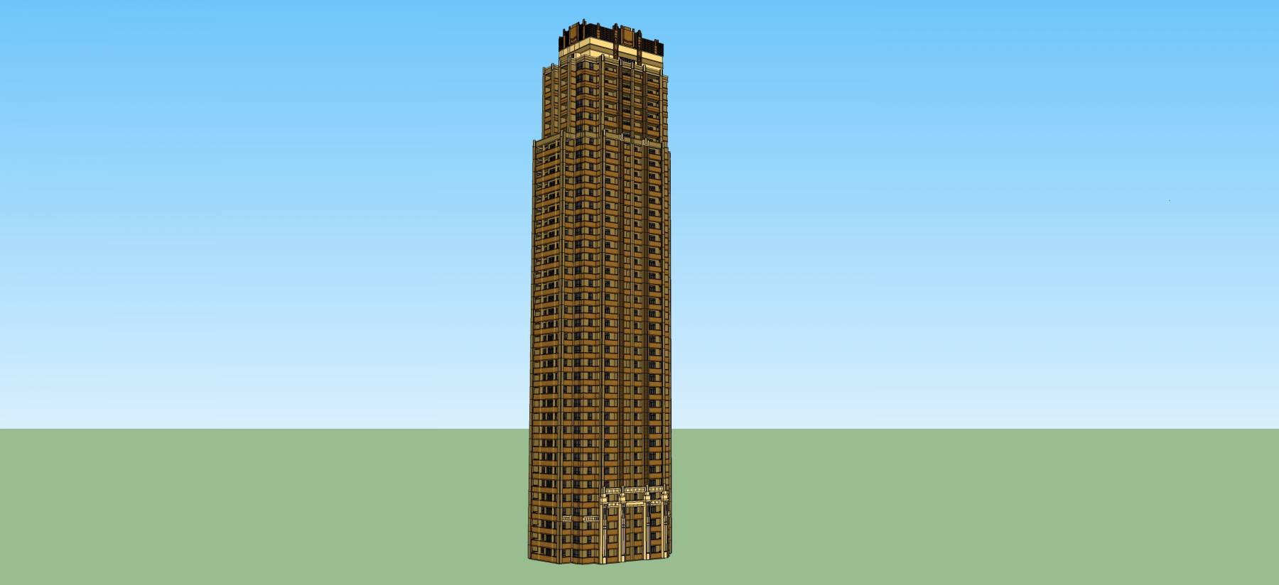 古典风格超高层住宅