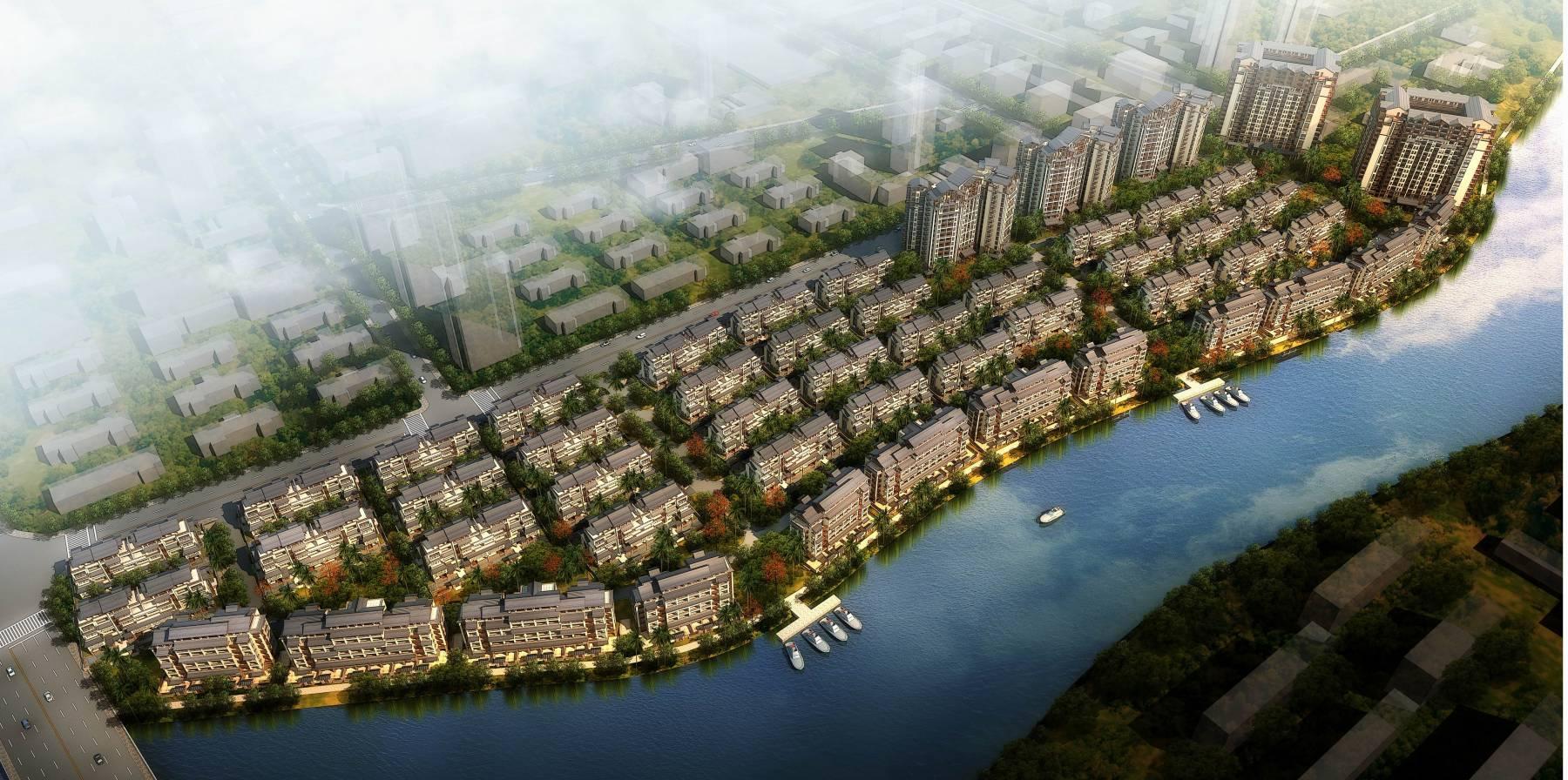 三亚凤凰水城住宅规划