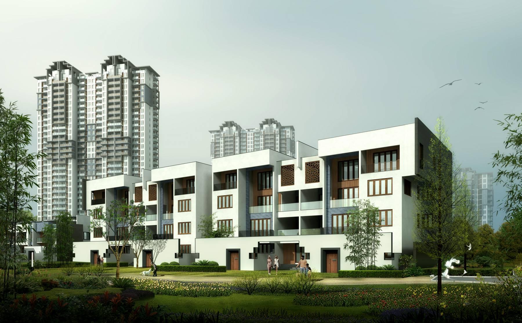 新中式住宅小区