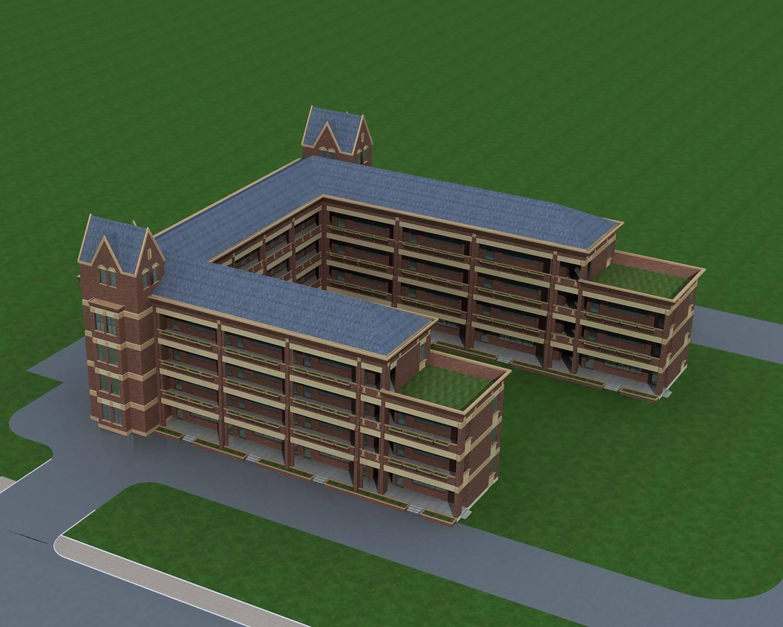 英式教学楼