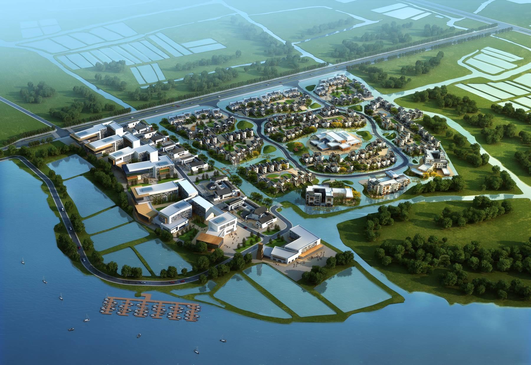 淀山湖规划