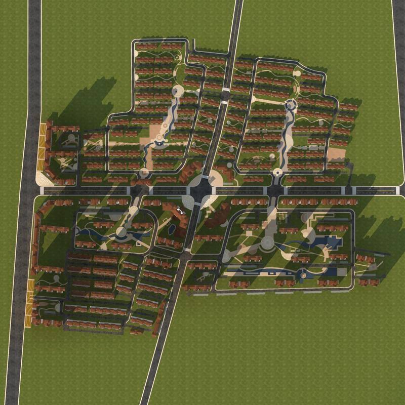 欧式住宅小区