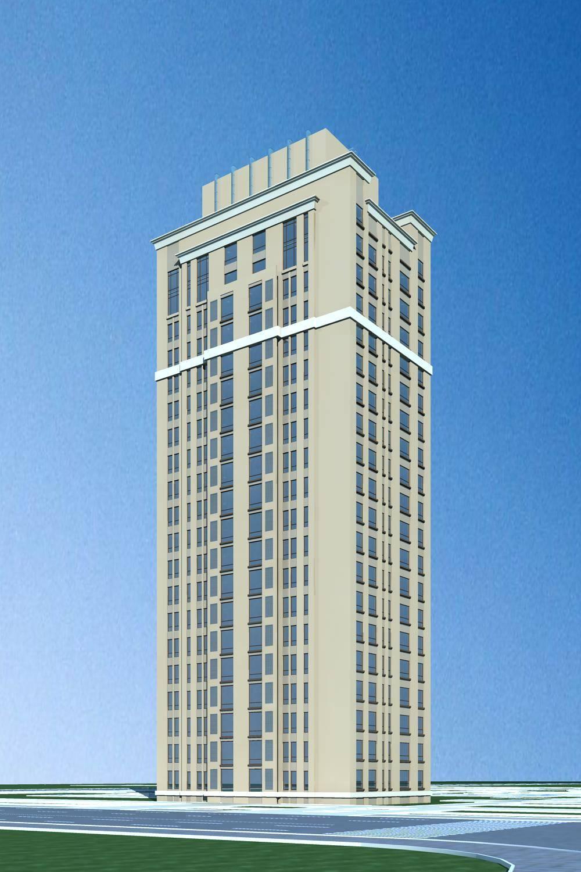 简欧风格高层办公楼