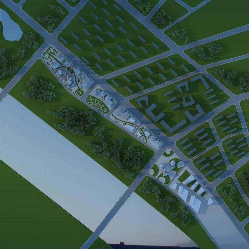 龙安拜城规划