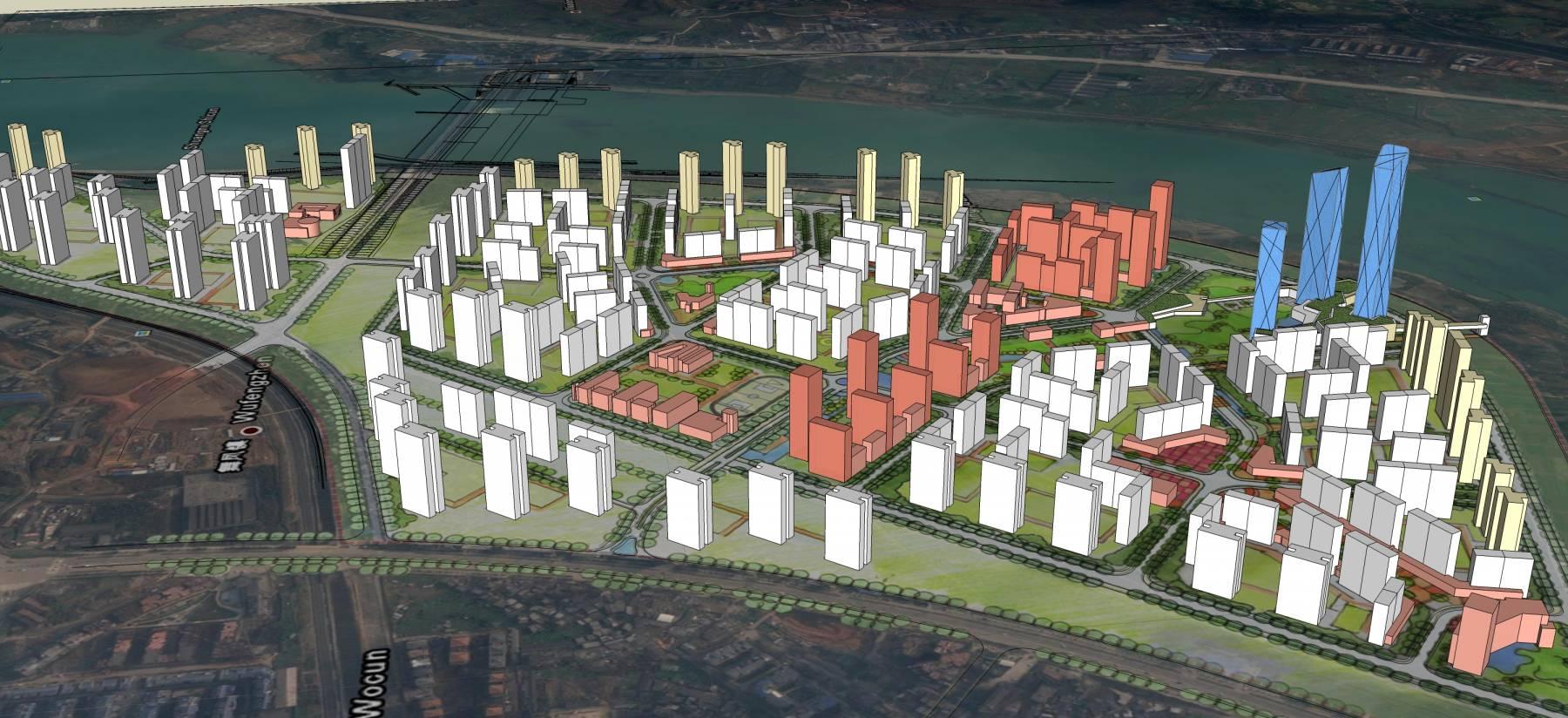 海边城市规划