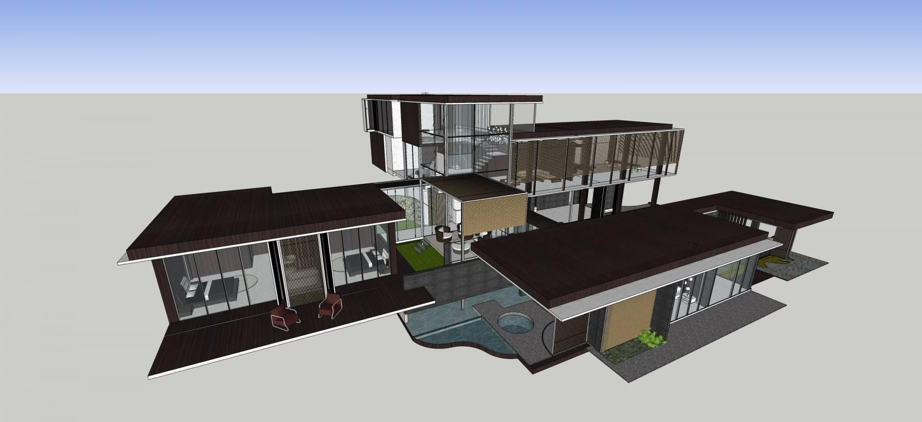 新中式风格别墅