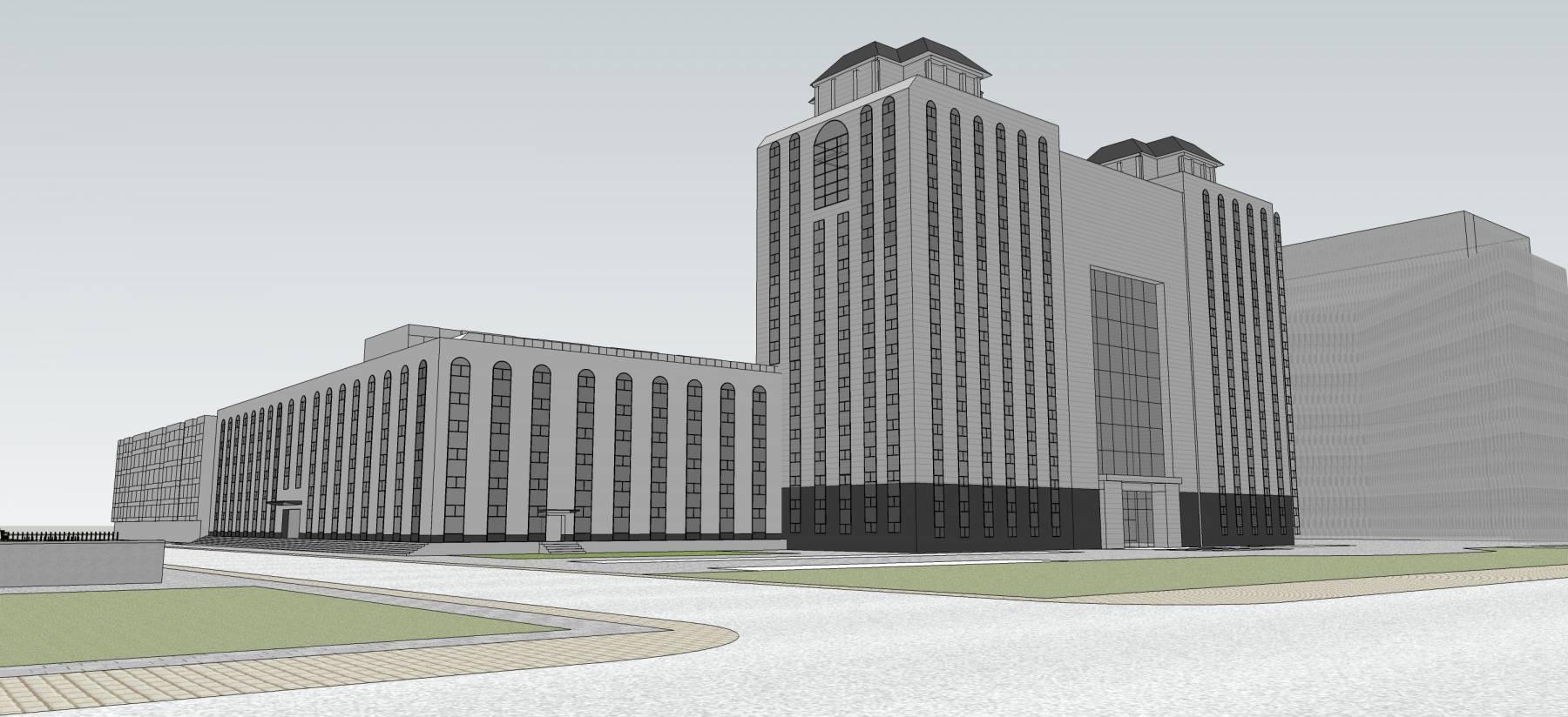 新中式风格博物馆