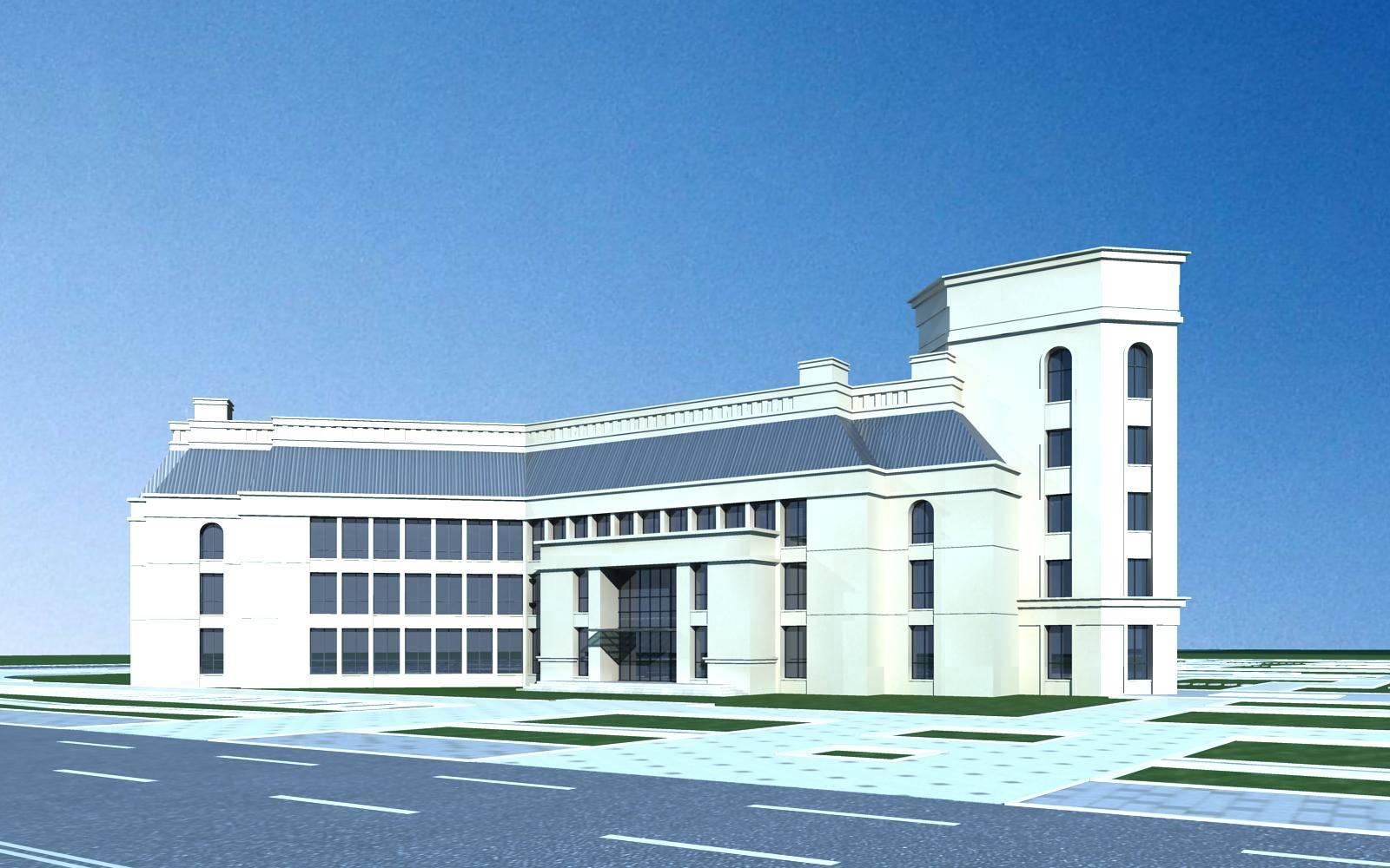 欧式小办公楼