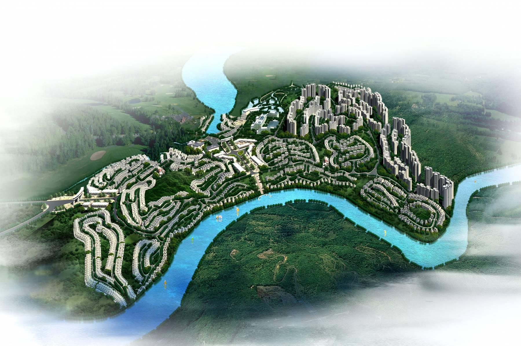佛冈勤天城规划