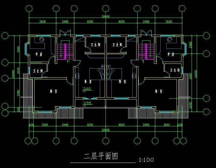 中式双拼别墅