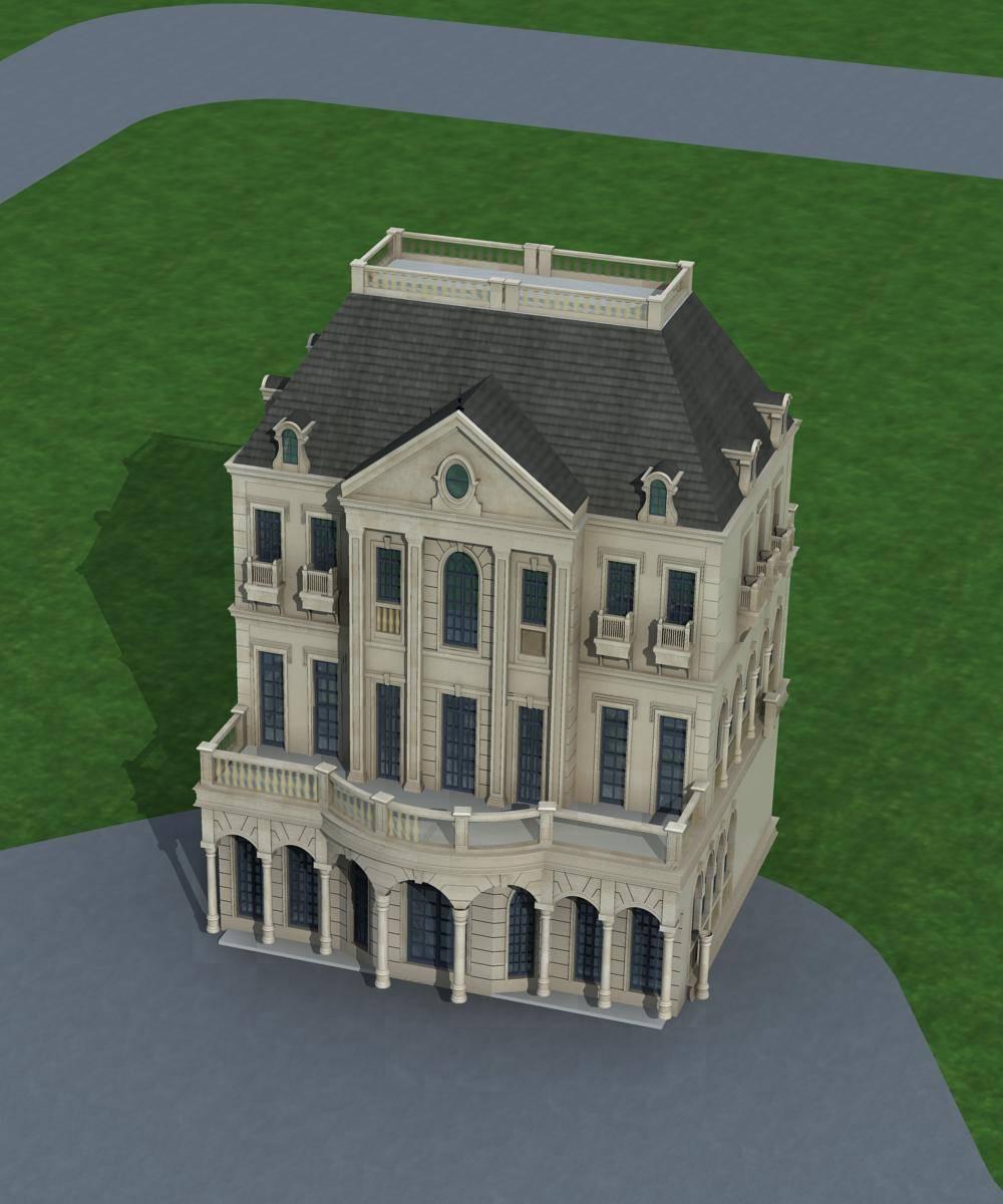 欧式大别墅