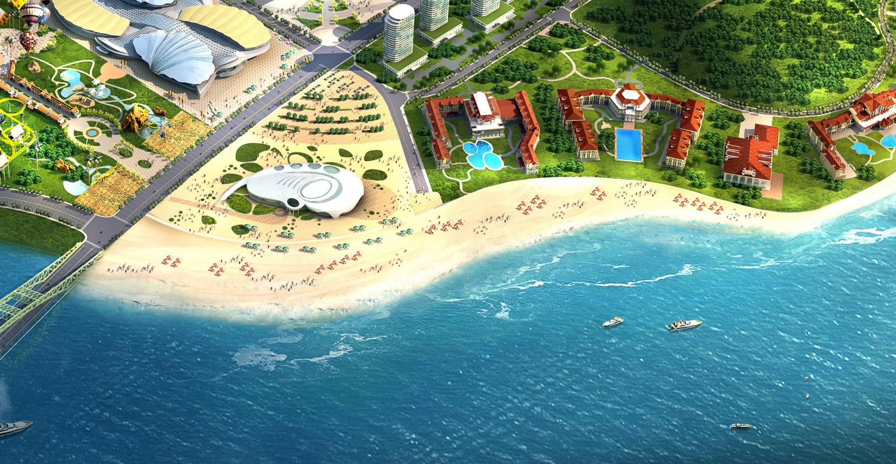 万达海滩项目