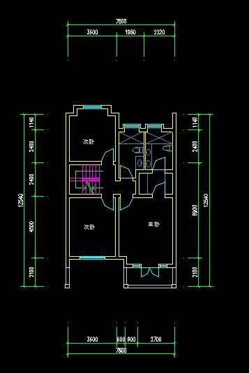 中式别墅平面图