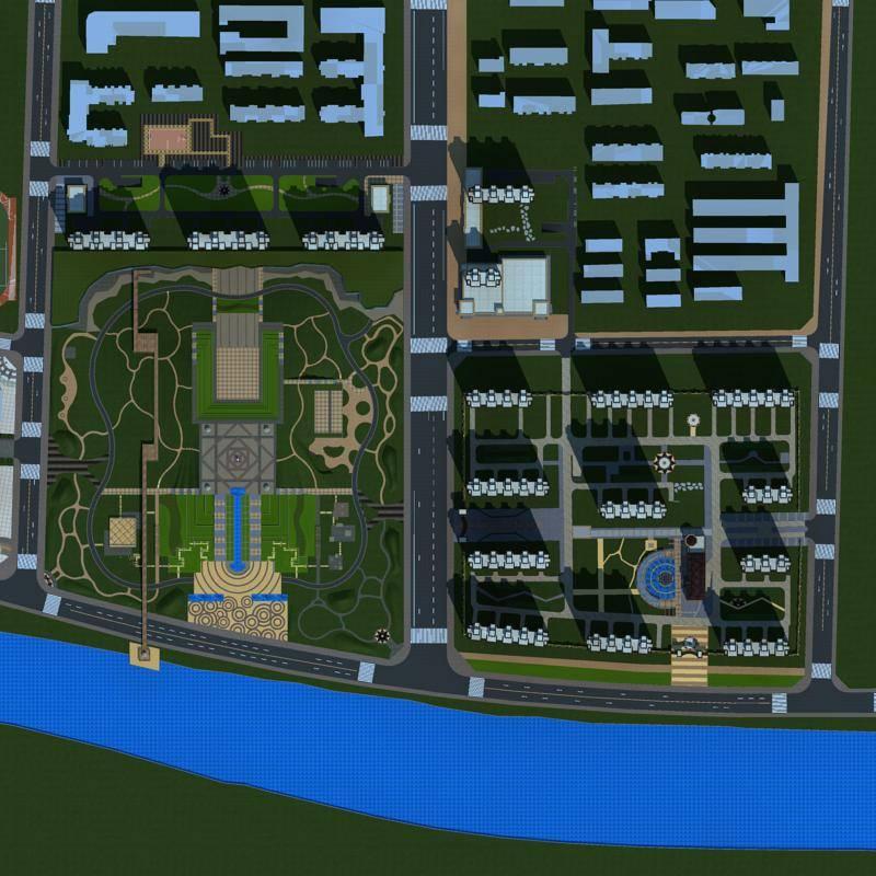 公园及商业住宅小区