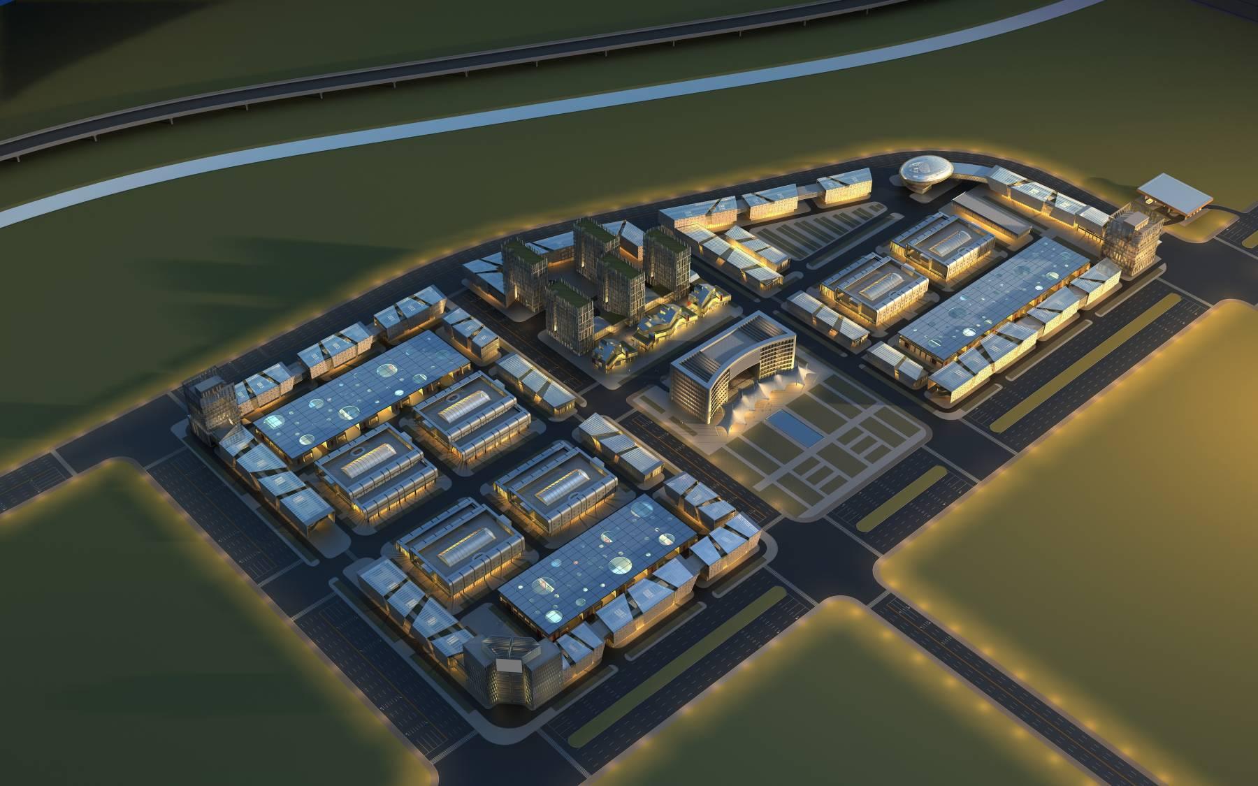 现代综合产业园区