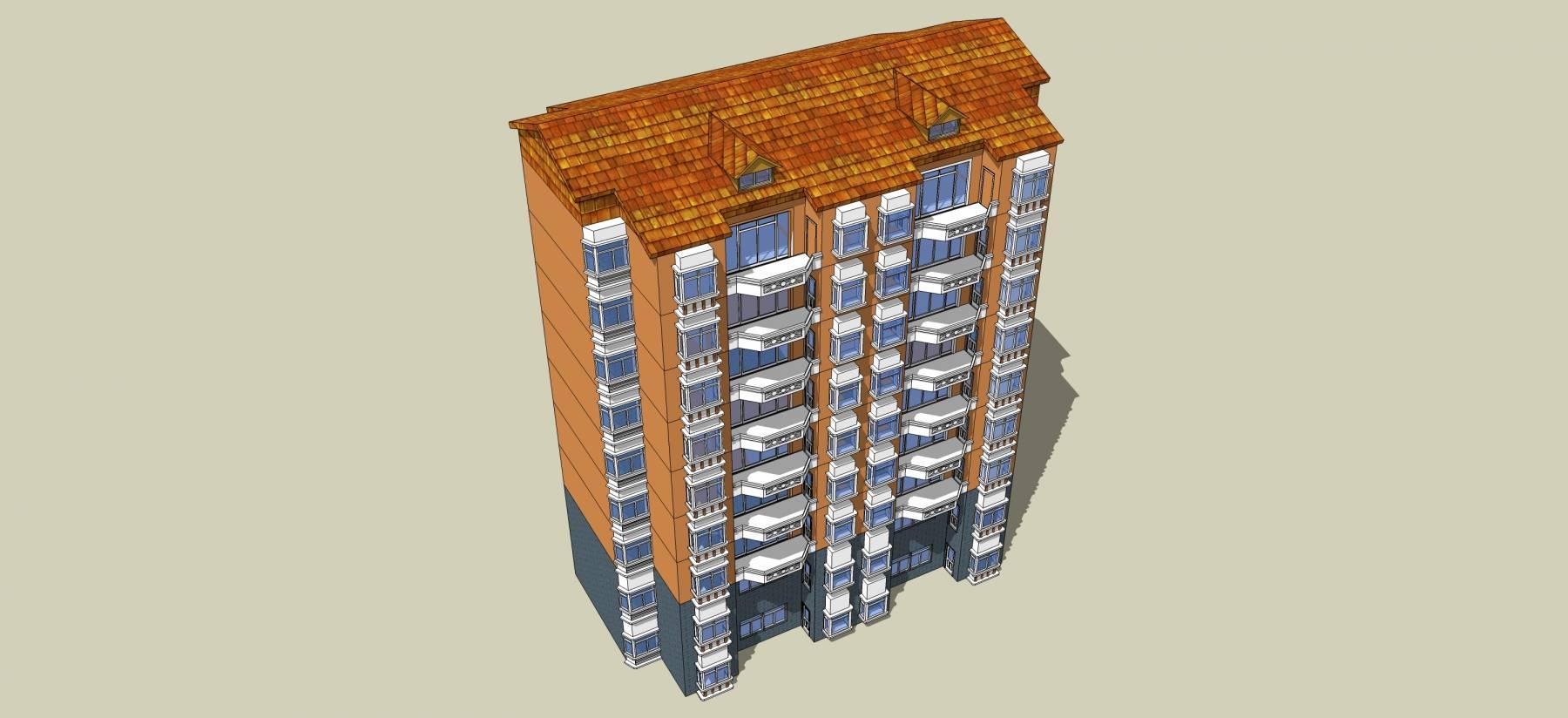 新中式风格高层住宅