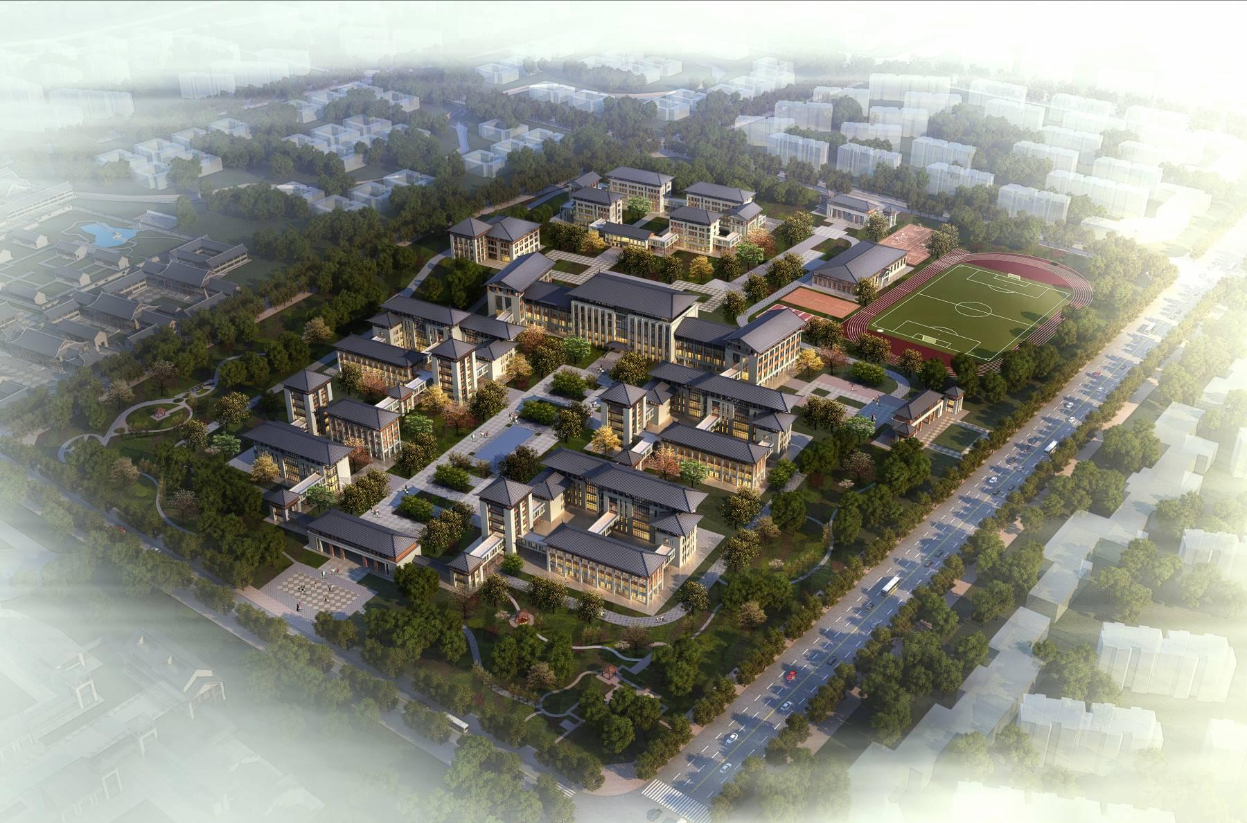 中式产业园区