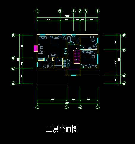 中式风格别墅平面图