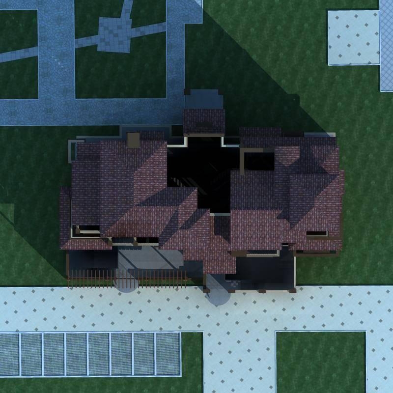 欧式小高层住宅楼
