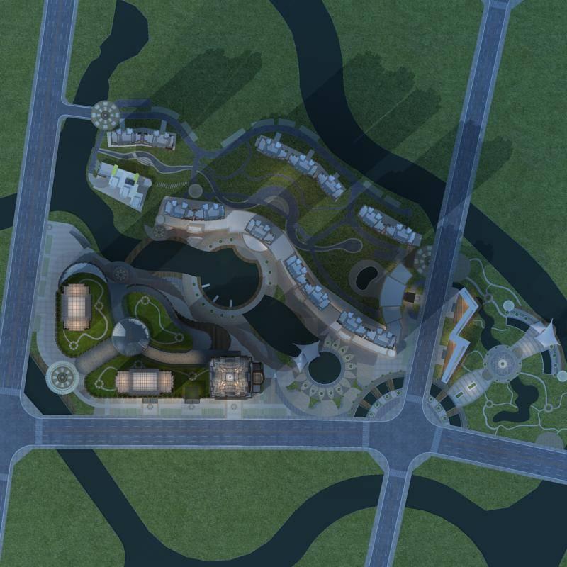 新古典风格城市综合体