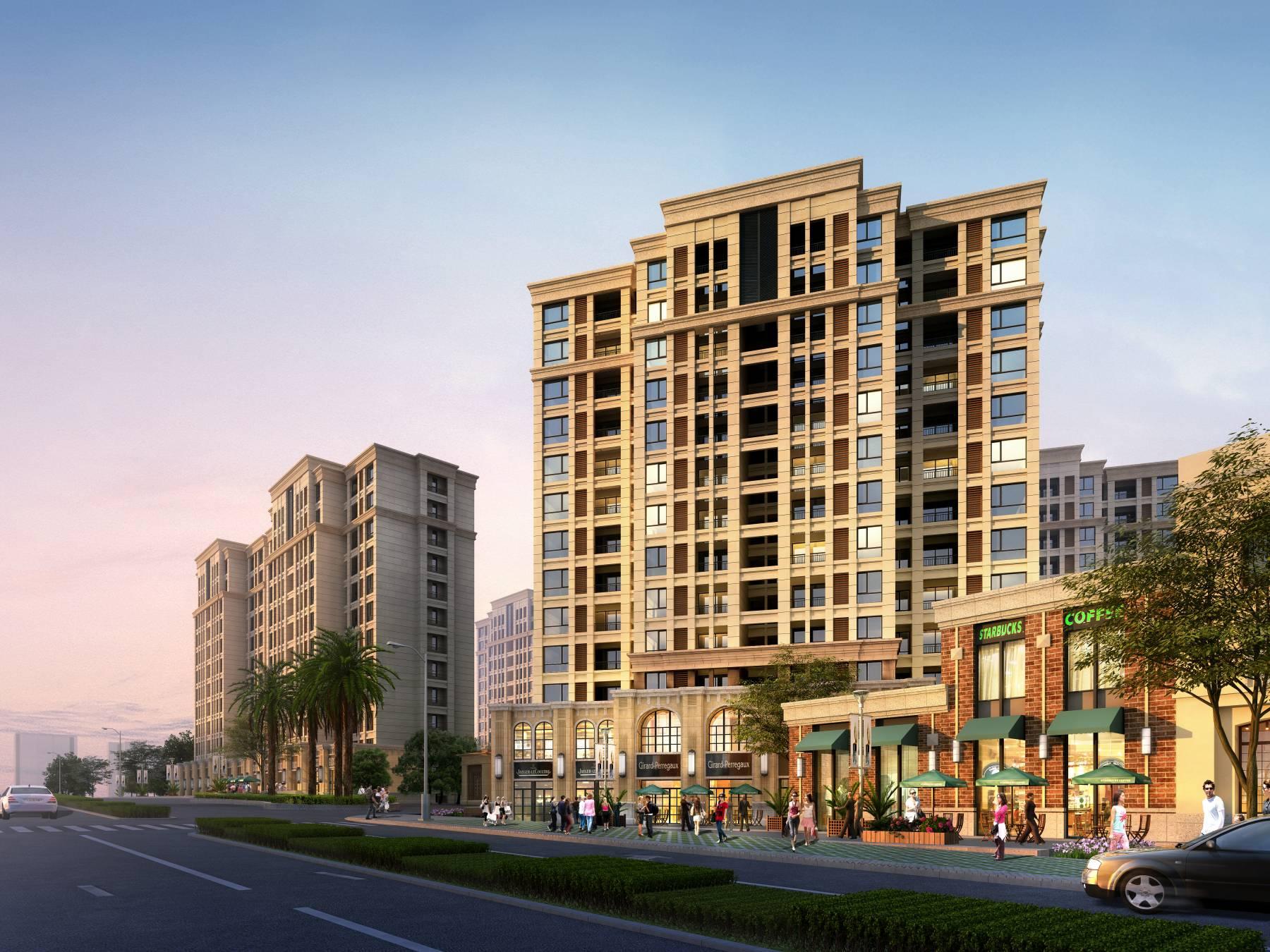 武汉绿岛住宅规划