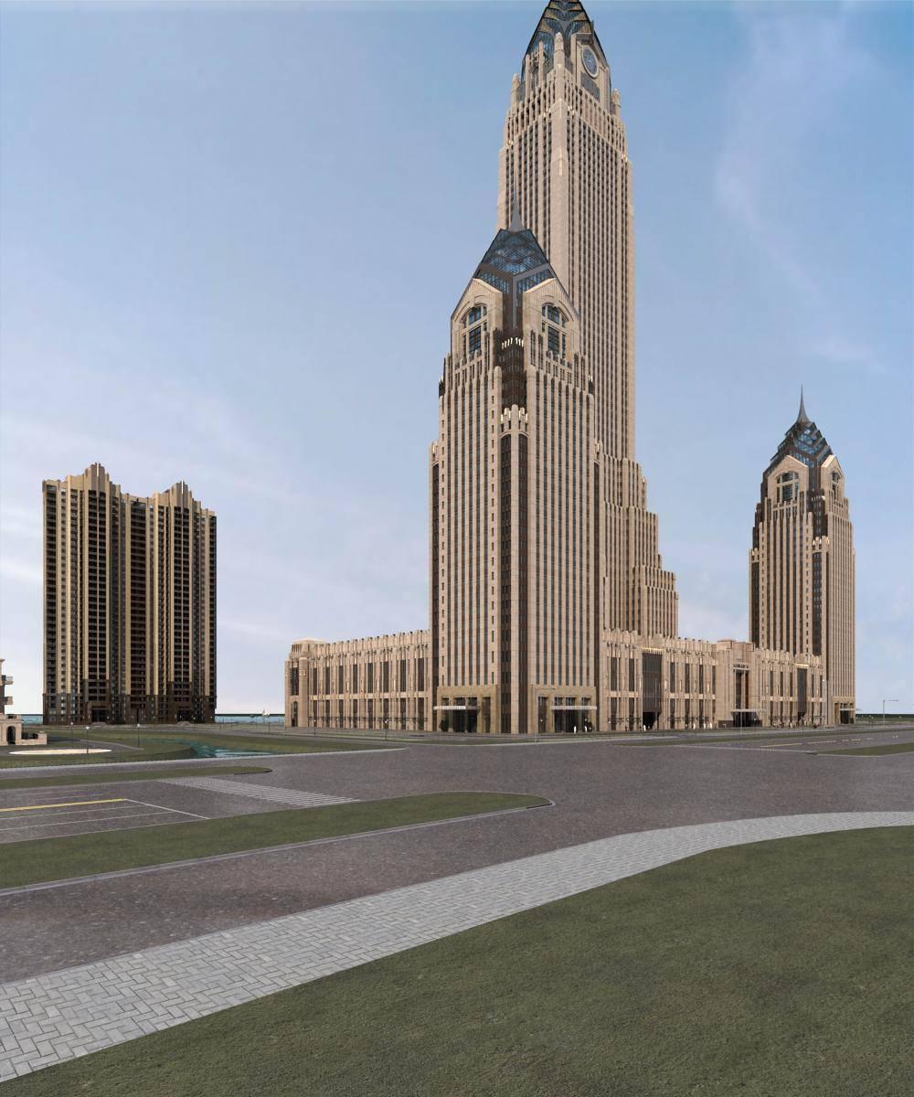新古典超高层酒店及住宅