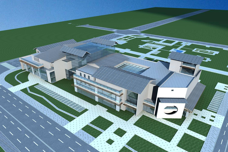 新中式商业楼