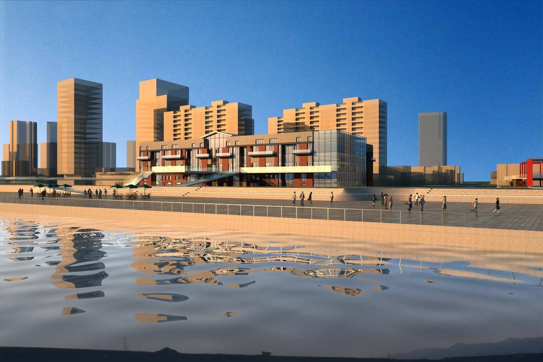 滨江景观规划