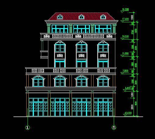 欧式风格多层住宅