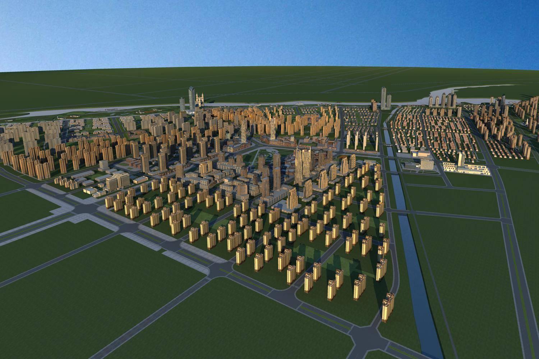 大型城市规划