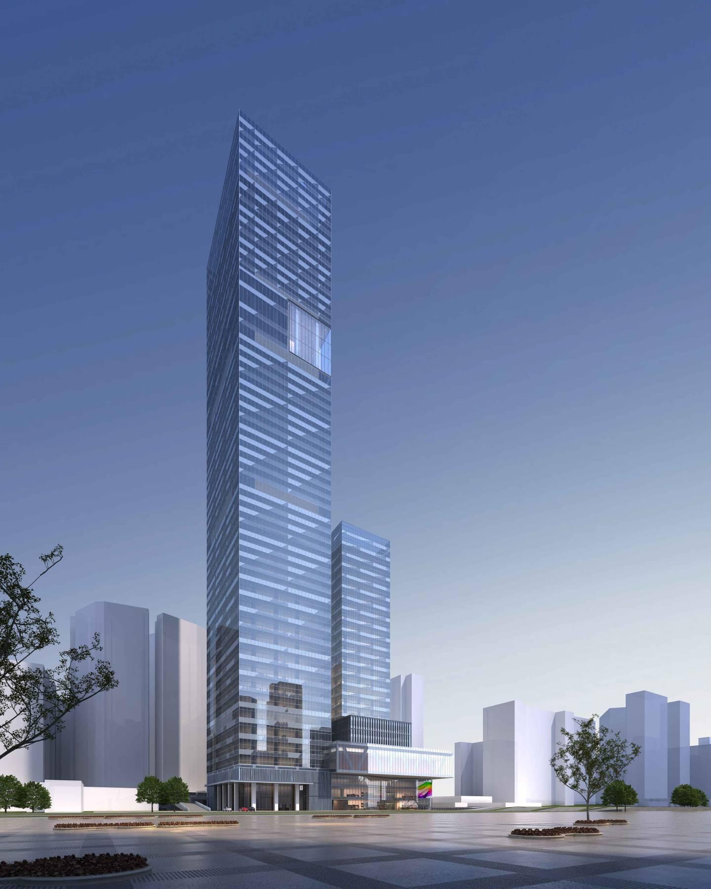 现代超高层商业办公楼