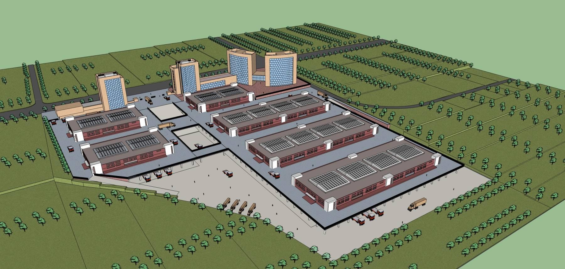 现代工业园区